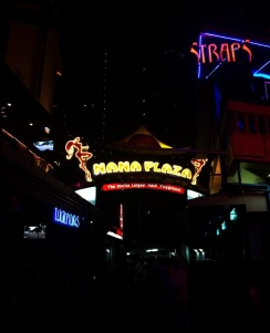 Nana Plaza, a three-floor complex, is one of Bangkok's red-light districts, along with Soi Cowboy and Patpong. Image by Julia Boccagno. Thailand, 2015.